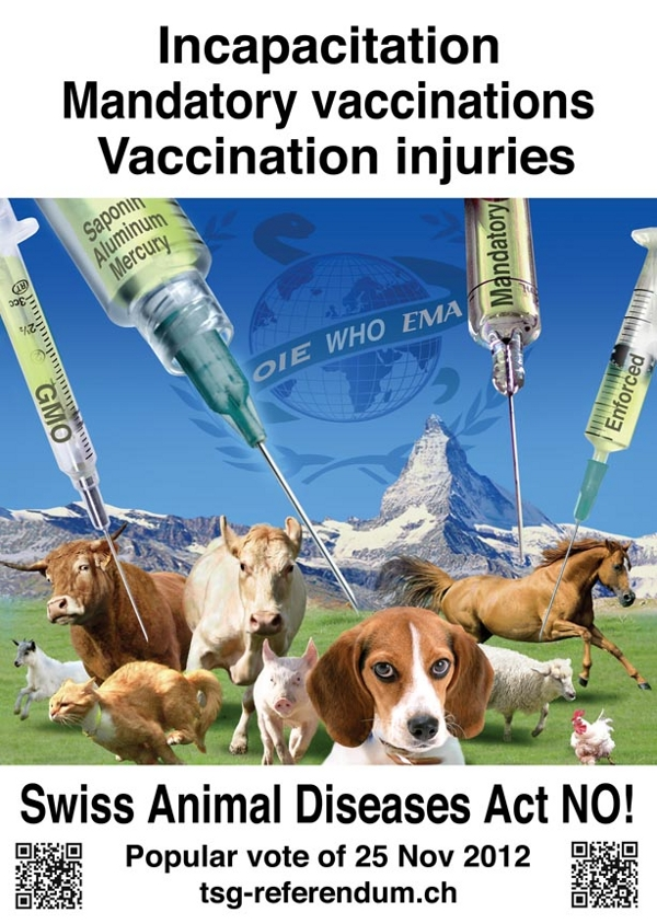 Swiss Federal Referendum on the Swiss Animal Diseases Act
